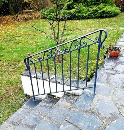Rampe escalier de jardin